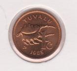 Tuvalu 1 Cent 1985 UNC