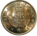 New Zeeland 1 Crown 1953 UNC
