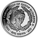 Falkland Island 1 Crown 2013 MS 63