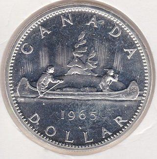 1 Dollar 1965 MS 60