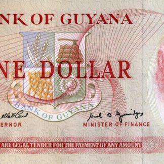 Guyana 1 Dollar ND UNC