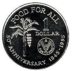 1 Dollar 1995 UNC