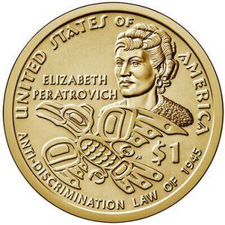 Amerika 1 Dollar 2020 P UNC