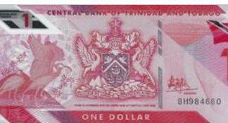 Trinidad & Tobaco 1 Dollar 2020 UNC