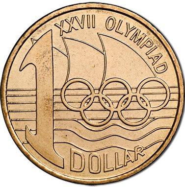 Australie 1 Dollar 2000 UNC