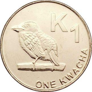 Zambia 1 Kwacha 2012 UNC