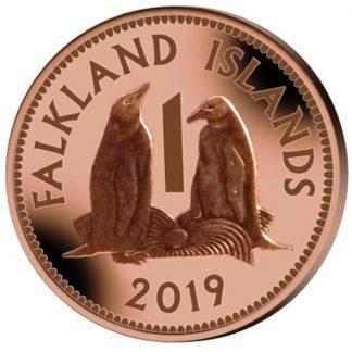 Falkland Island 1 Cent 2019 UNC