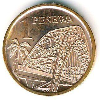 Ghana 1 pesewa 2007 UNC