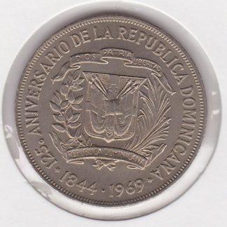1 Peso 1969 UNC
