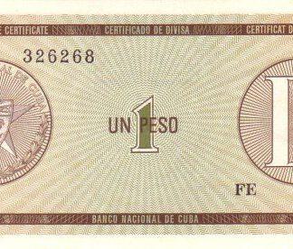 Cuba 1 Peso 1985 UNC