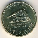 Gibraltar 1 Pound 2004 UNC