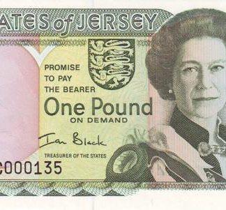 Jersey 1 Pound 2000 UNC