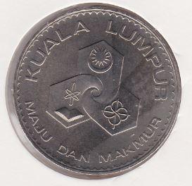 1 Ringgit 1972 UNC