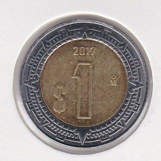 1 Peso 2017 UNC