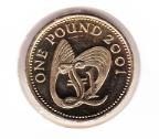 Guernsey 1 Pound 2001 UNC
