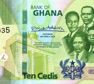Ghana 10 Cesis 2019 UNC