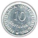 Guinea-Bissau 10 Centavos 1973 XF