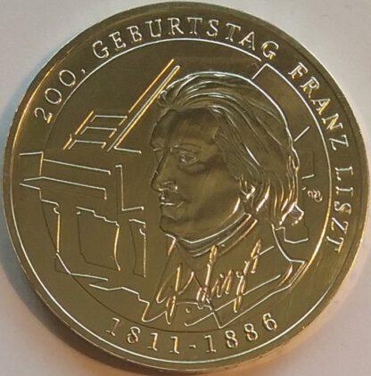 Duitsland 10 Euro 2011 UNC