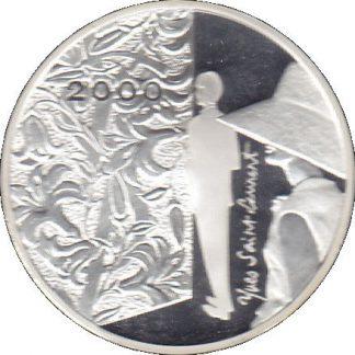 Frankrijk 2000 10 Frank Proef