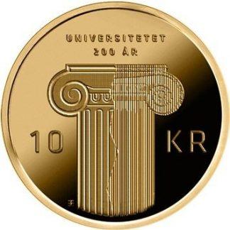 Noorwegen 10 Kronen 2011 UNC