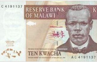 Malawi 10 Kwacha 1997 UNC
