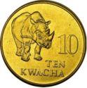 Zambia 10 Kwacha 1993 UNC