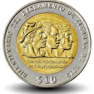 10 Pesos 2015 UNC