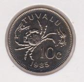 Tuvalu 10 Cent 1985 UNC