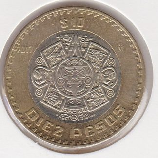 10 Pesos 2017 UNC