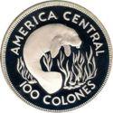 Costa Rica 100 Colonnes 1974 UNC