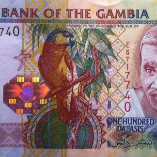 Gambia 100 Dalasis 2006/18 UNC