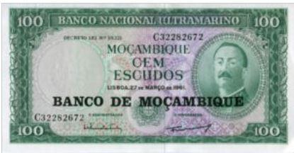 Mozambique 100 Escudos 1976 UNC