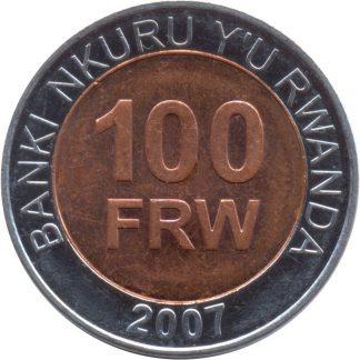100 Frank 2007 UNC