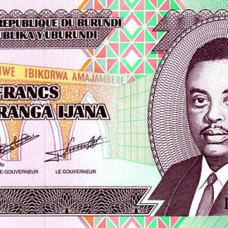Burundi 100 Frank 2011 UNC