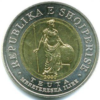 Albanie 100 Leke 2000