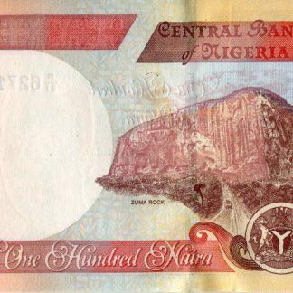 100 Naire 2011 UNC