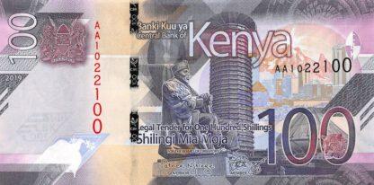 Kenya 100 Shilling 2019 UNC