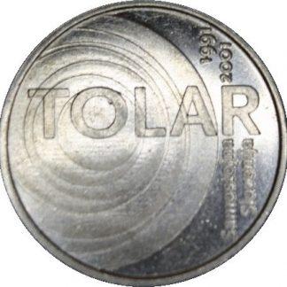 Slovenie 100 Tolarja 2001 UNC