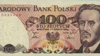 Polen 100 Zloty 1986 UNC