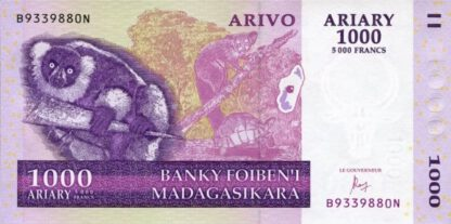 Madagaskar 1000 Ariary 2004 UNC