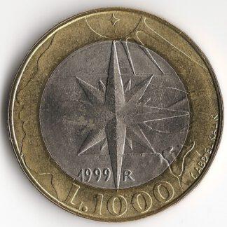 San Mario 1000 Lira 1999 UNC