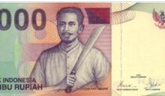 Indonesie 1000 Rupees 2007 UNC