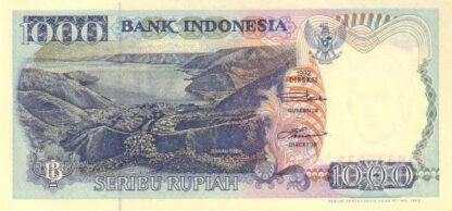 Indonesie 1000 Rupees 1992 UNC