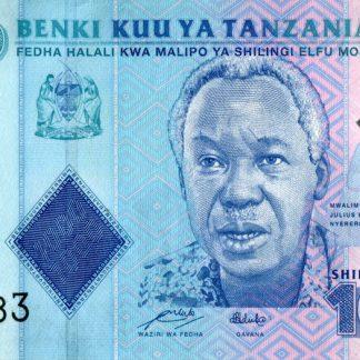 1000 Shilling 2010 UNC