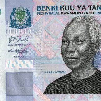 Tanzania 1000 Shilling 2003 UNC