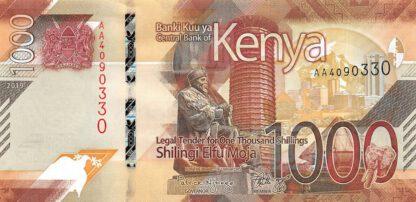 Kenya 1000 Shilling 2019 UNC