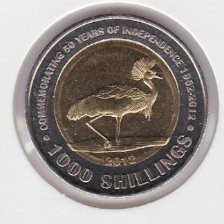 1000 Shilling 2012 UNC