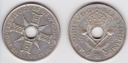 1 Shilling 1938 XF