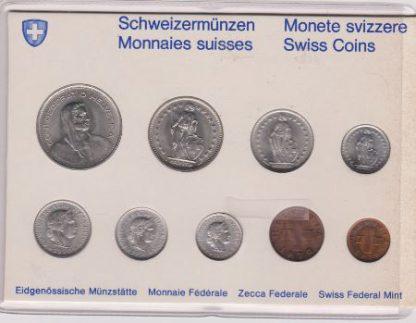 Zwitserland Set 1970 MS 60