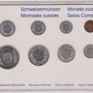 Zwitserland set 1975 MS 60